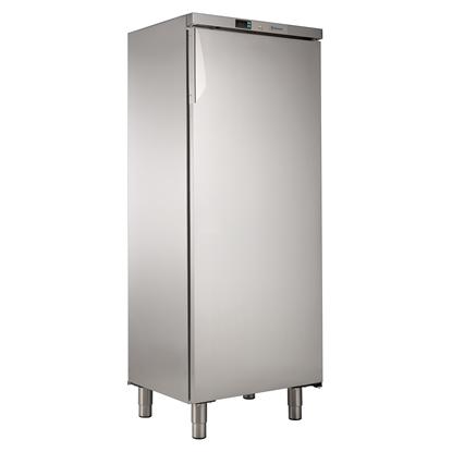 400 Liter400lt Line Kühllagerschrank 1 Tür  (0/+10) - Edelstahl (R600a)