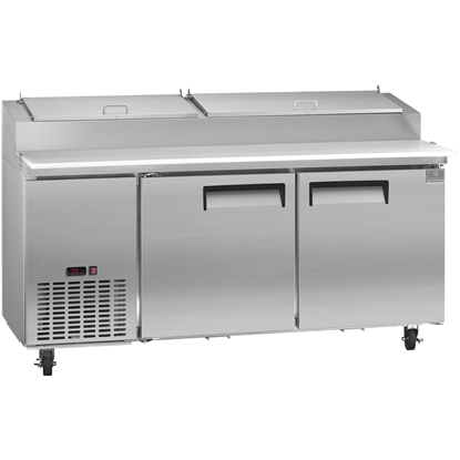 Refrigeration Equipment<br>Pizza Preparation Table, 16 CU.FT - Stainless Steel (R290)