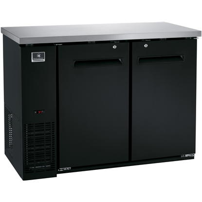 Refrigeration Equipment<br>Bar Equipment 2-door Refrigerator, 11.8 cu.ft, 48
