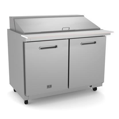 Refrigeration Equipment<br>Mega Top Table, 48