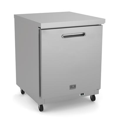 Refrigeration Equipment<br>Undercounter Freezer, 6 cu.ft, 27
