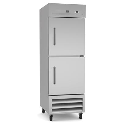 Refrigeration Equipment<br>Reach-In Freezer, 2 Half Door, 23 cu.ft - Stainless Steel (R290)