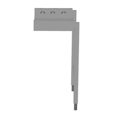 Handling systeem voor afwasmachineRollenbaan, korte rollen, 400 mm