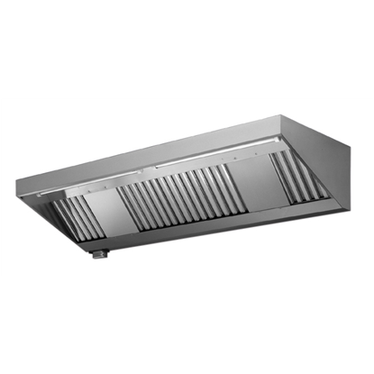 Ventilation Equipment430 S/S Wall Hood+Filters 2800X700mm