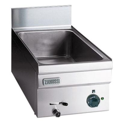 Modular Cooking<br>Vattenbad - 1 bassäng anpassad för 1st GN 1/1 kantin h. 150 mm. Justerbar termostat från 60°C till 9