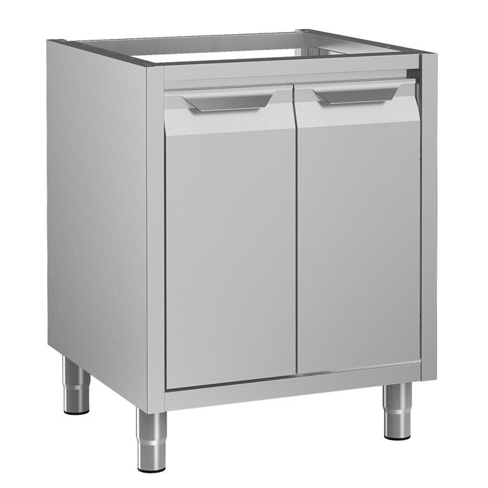 Preparazione Statica Standard<br/><br/><br>Vano armadiato senza top per lavello, con 2 porte a battente, 700 mm