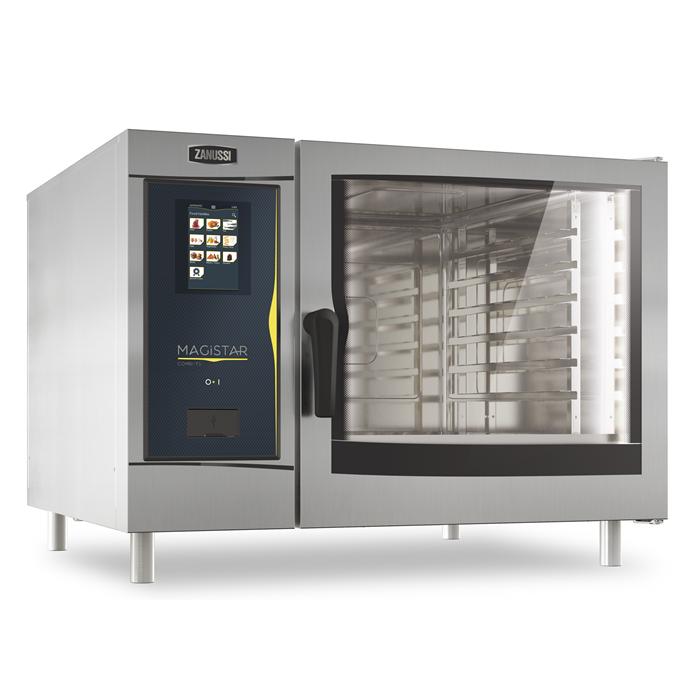Magistar Combi TS<br>Forno touch con boiler, elettrico 6 GN 2/1