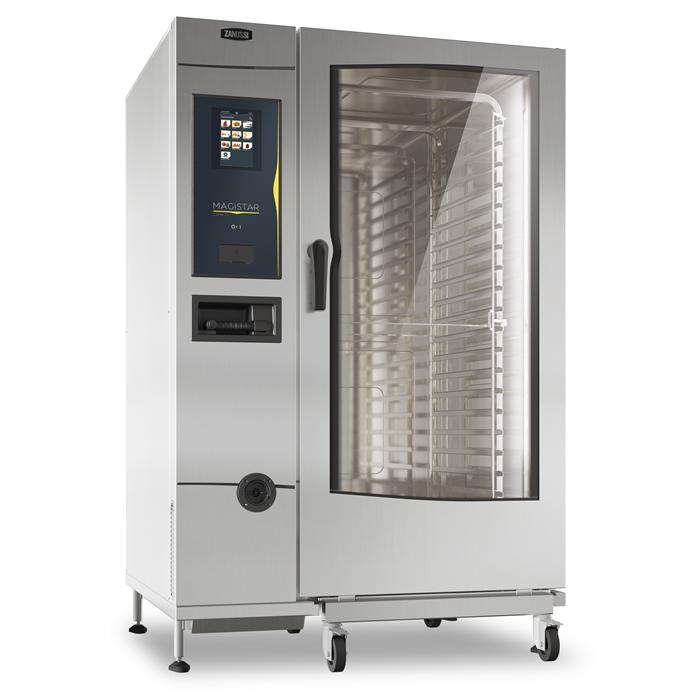 Magistar Combi TS<br>Forno touch con boiler, gas 20 GN 2/1