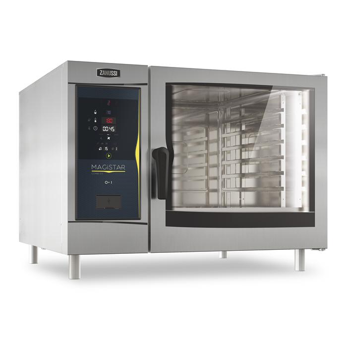 Magistar Combi DS<br>Forno digitale con boiler, elettrico 6 GN 2/1