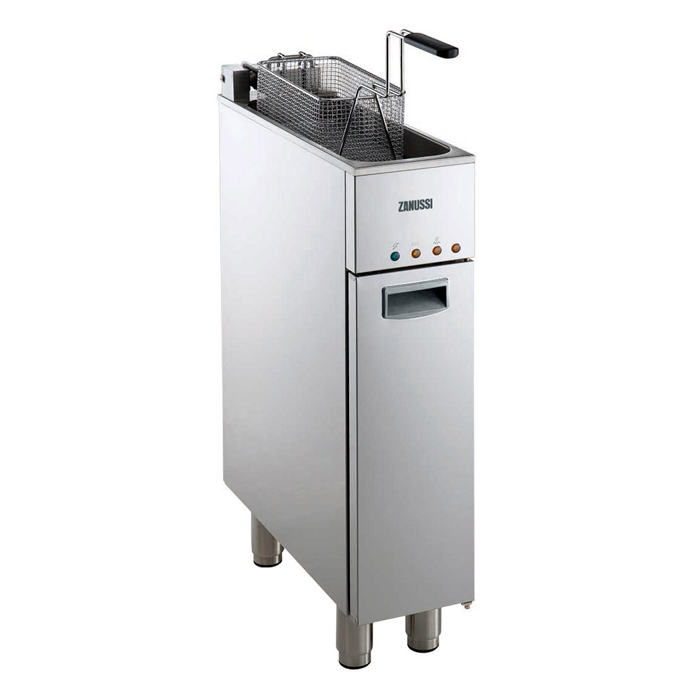模块化烹饪范围线<br>200毫米- 1井电动炸锅9升
