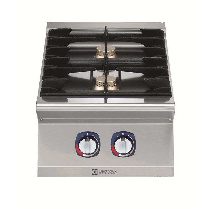 Gamma cottura modulare<br>700XP Cucina a gas top 2 fuochi