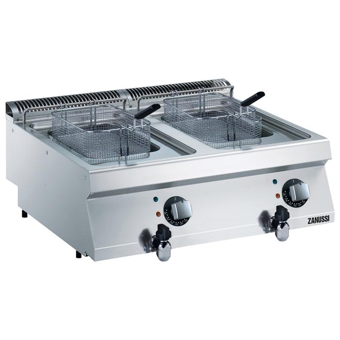 Modular Cooking Range Line<br>EVO700 Two Wells Electric Fryer Top 7 liter