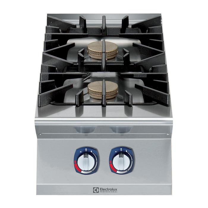 Gamma cottura modulare<br>900XP Cucina a gas top, 2 fuochi, 10kW