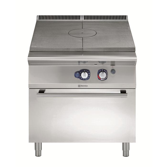 Gamma cottura modulare<br>900XP Tuttapiastra a gas su forno a gas