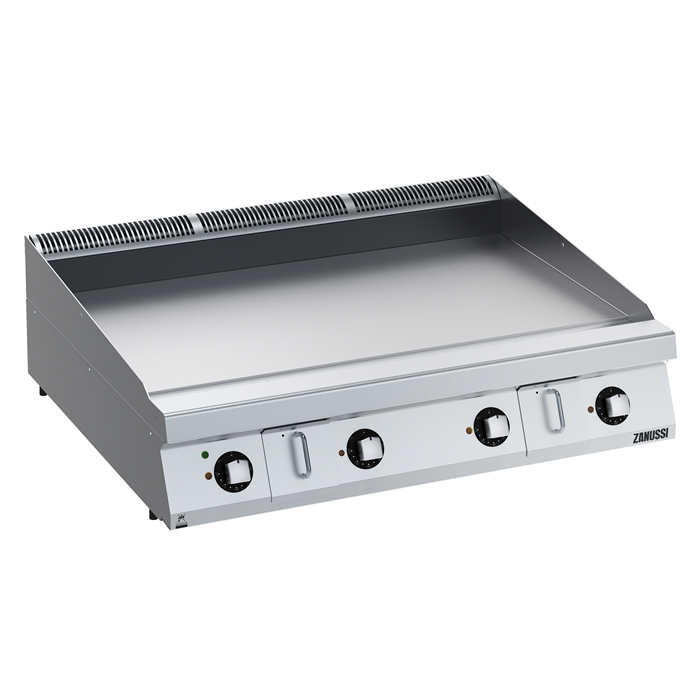 Modular Cooking Range Line<br>EVO900 1200mm Electric Fry Top HP, Smooth Scratch Resistant Chromium Plate