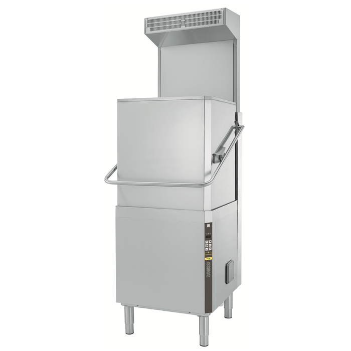 Warewashing<br>Hood Type Dishwasher, Single Skin with Rinse-aid Dispenser, ESD