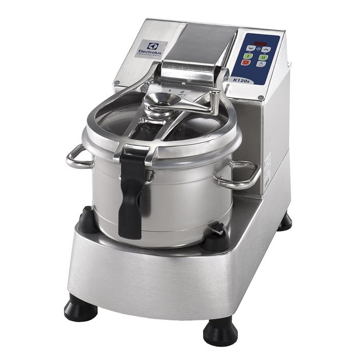 Cutter Mixer<br>Cutter mixer, vasca in INOX 11.5 LT - 2 velocità, lama microdentata