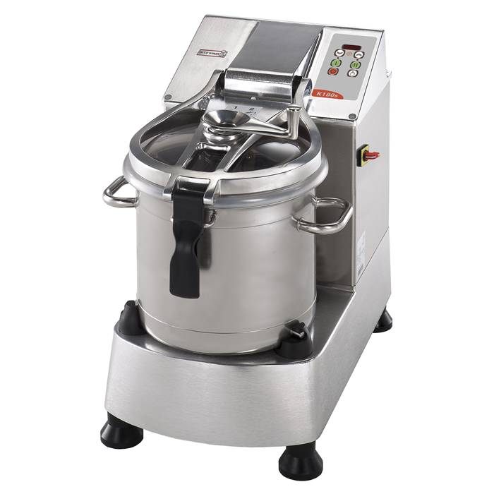 Food Processor<br>Stainless Steel Cutter Mixer - 17.5 LT - Variable Speed with Microtoothed Blade, Bowl and Scraper