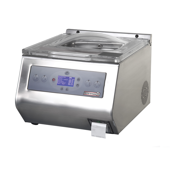Vacuum Packers<br>Table Top Vacuum Packer with HACCP Label Printer - 8 m³/h