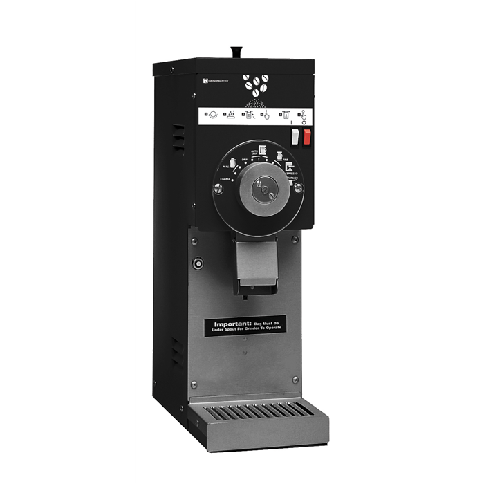 Coffee System<br>Coffee Grinder with Hopper, 0,7 kg, black