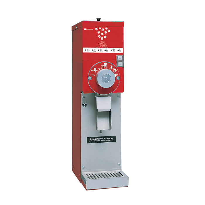 Coffee System<br>Coffee Grinder with Hopper, 1,4 kg, red