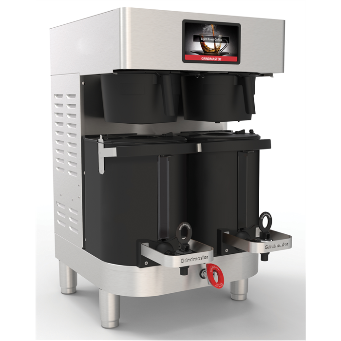 Coffee System<br>PrecisionBrew air-heated shuttle double brewer