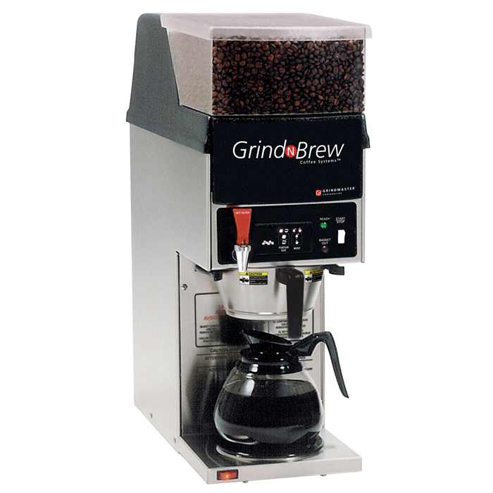 Coffee System<br>Grinder brewer 2,5 kg, single - decanter with UK plug