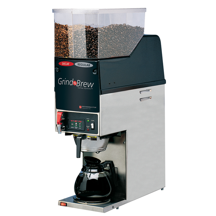Coffee System<br>Grinder brewer 2,5 kg, double - decanter