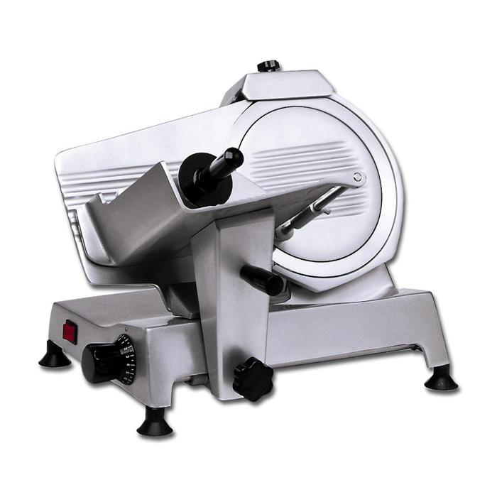 Affettatrici<br>MSL - Affettatrice a gravità semiprofessionale 250 mm trasmissione a cinghia