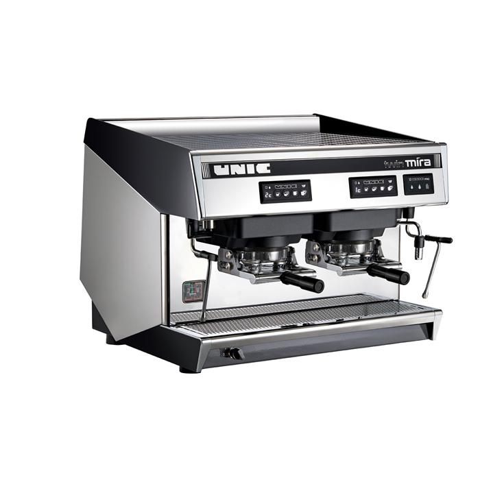 Coffee System<br>Traditional espresso coffee POD machine, 2 groups, 10.1 liter boiler