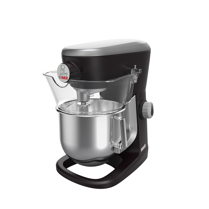 Planetary Mixers<br>Planetary Mixer, 5 lt - Electronic with Hub - Black color