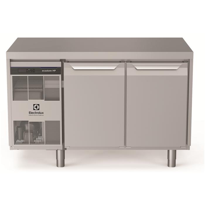 ecostore HP Premium<br>Tavolo refrigerato 290 litri, 2 porte, -2°+10°C, con schienale in acciaio inox AISI 304