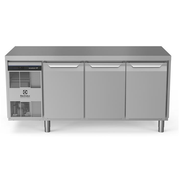 ecostore HP Premium<br>Tavolo refrigerato 440 litri, 3 porte, -2°+10°C, con schienale