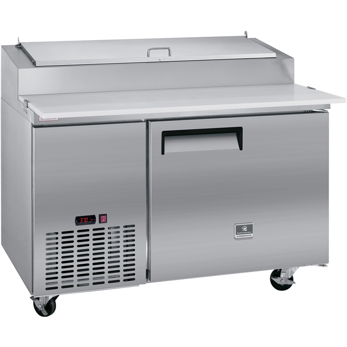 Digital Cabinets<br>Pizza Preparation Table, 9 CU.FT - Stainless Steel