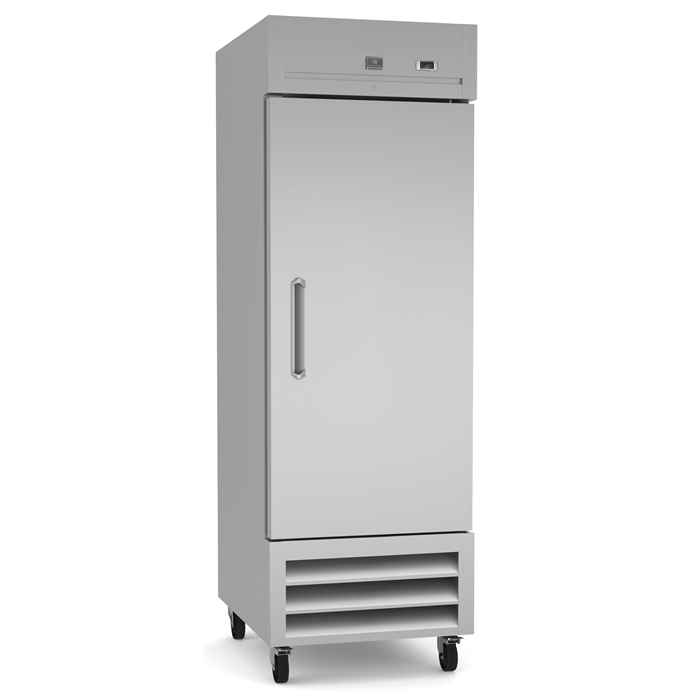 Refrigeration Equipment<br>Reach-In Refrigerator, 1 Door, 23 cu.ft - Stainless Steel (R290)