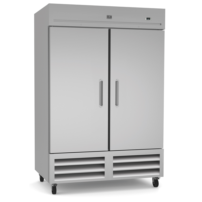 Refrigeration Equipment<br>Reach-In  Refrigerator, 2 Door, 49 cu.ft - Stainless Steel (R290)