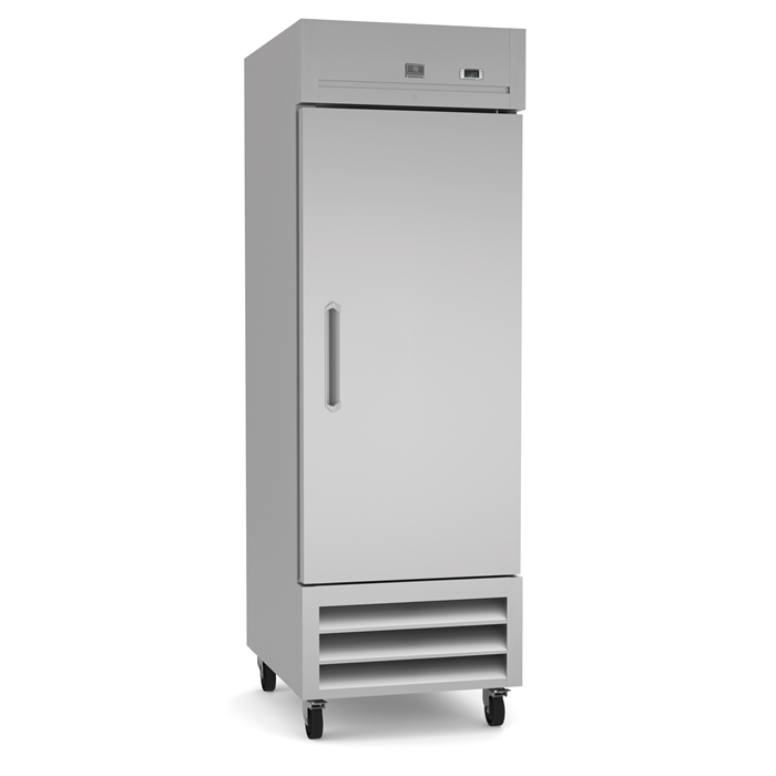 Refrigeration Equipment<br>Reach-In Freezer, 1 Door, 23 cu.ft - Stainless Steel (R290)