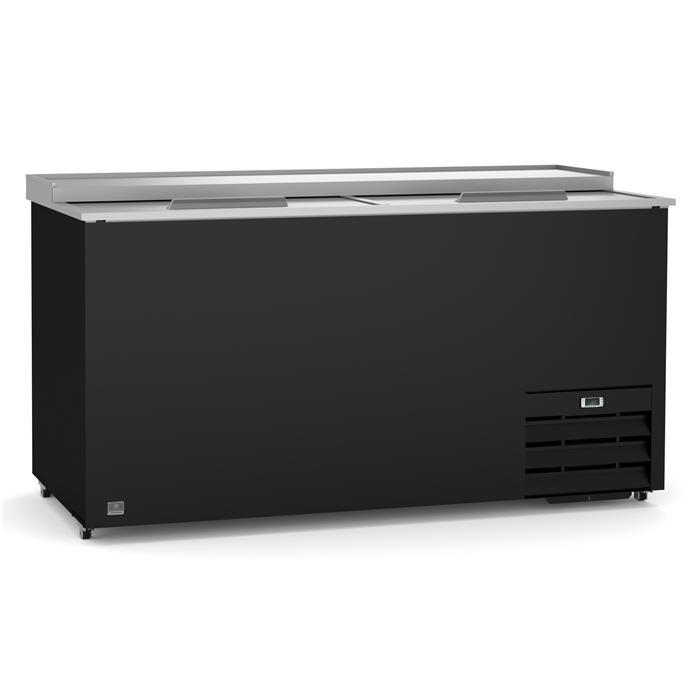 Refrigeration Equipment<br>Bottle Cooler with Slide Top, 19 cu.ft, 65'' (R600a)