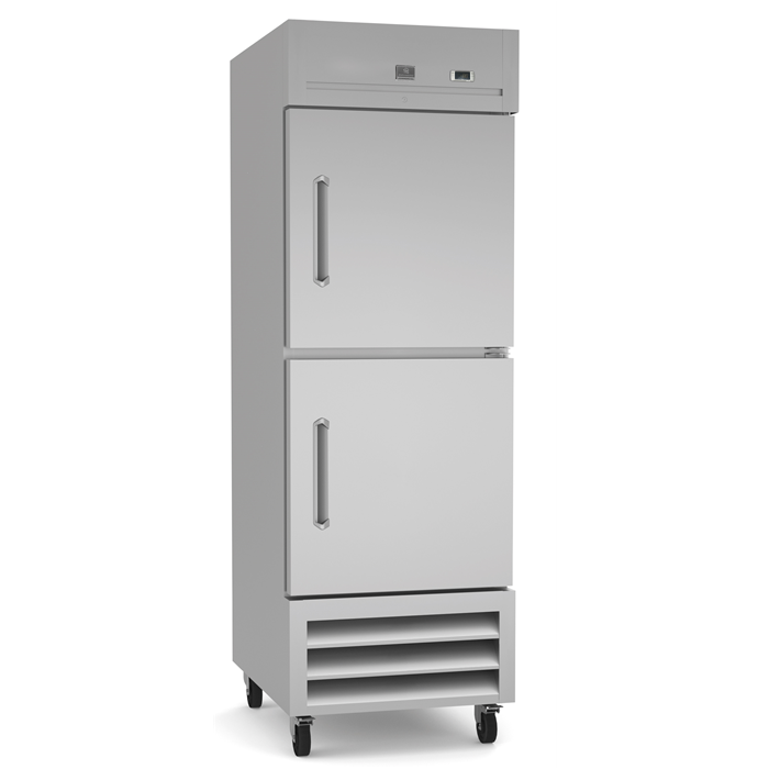 Refrigeration Equipment<br>Reach-In Refrigerator, 2 Half Door, 23 cu.ft - Stainless Steel (R290)