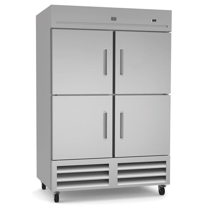 Refrigeration Equipment<br>Reach-In Refrigerator, 4 Half Door, 49 cu.ft - Stainless Steel (R290)