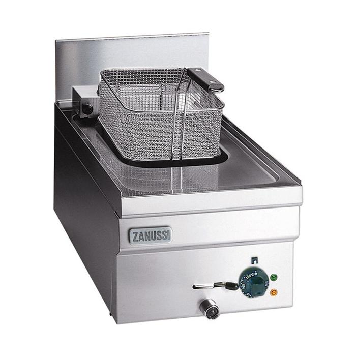 Modular Cooking<br>1 bassäng - 8 liter, elektrisk. Inkl. lock, 1st korg 210x260x105mm